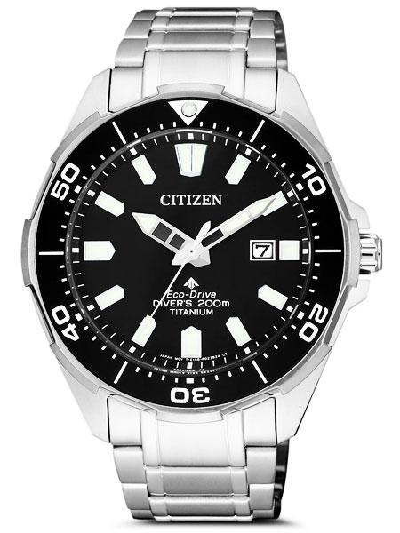 シチズン CITIZEN 腕時計 PROMASTER プロマスター エコ・ドライブ ダイバー200m オールチタン BN0200-81E