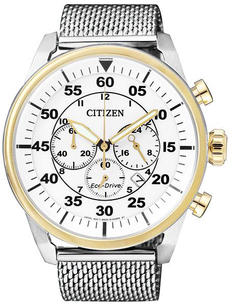 シチズン CITIZEN エコドライブ クロノグラフ 腕時計 メンズ CA4214-58A
