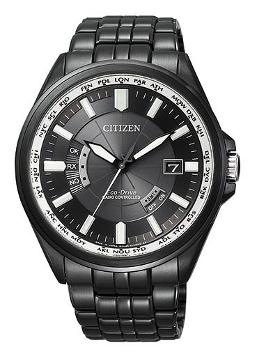 シチズン CITIZEN エコドライブ ソーラー 電波腕時計 サファイアガラス 日本製 CB0014-52E