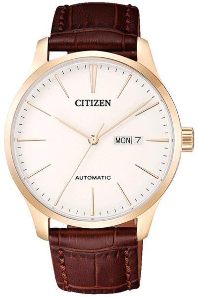 シチズン CITIZEN 自動巻き メカニカル デーデイト 腕時計 NH8353-18A