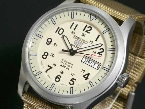 セイコー SEIKO セイコー5 スポーツ 5 SPORTS 自動巻き 腕時計 SNZG07J1