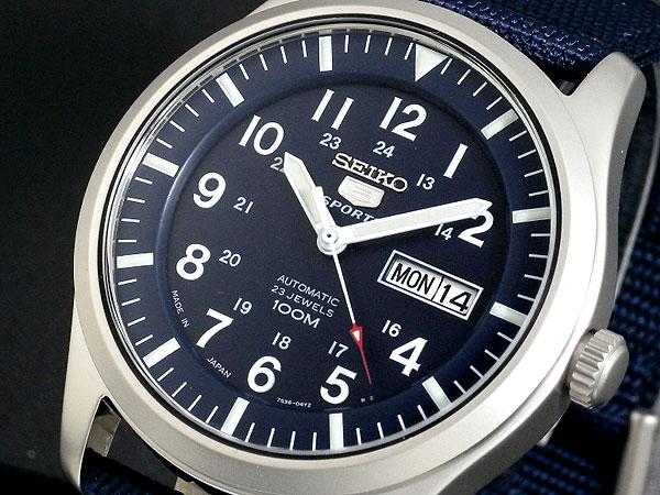 セイコー SEIKO セイコー5 スポーツ 5 SPORTS 日本製 自動巻き 腕時計 SNZG11J1