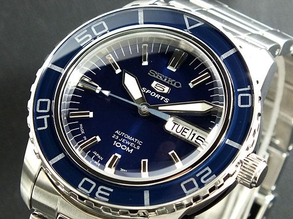 セイコー 5 SEIKO ファイブ スポーツ 腕時計 日本製 自動巻き SNZH53J1