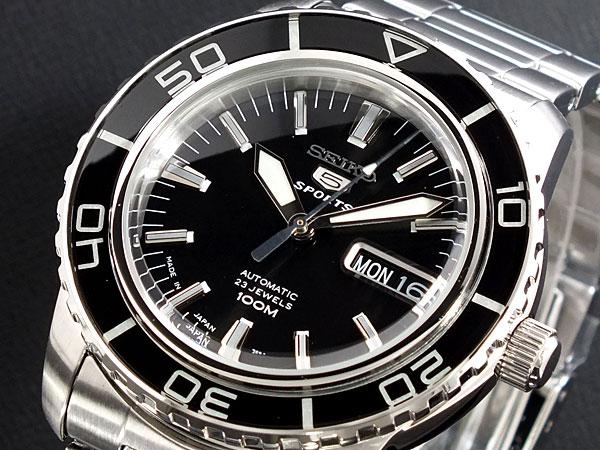 セイコー 5 SEIKO ファイブ スポーツ 腕時計 日本製 自動巻き SNZH55J1