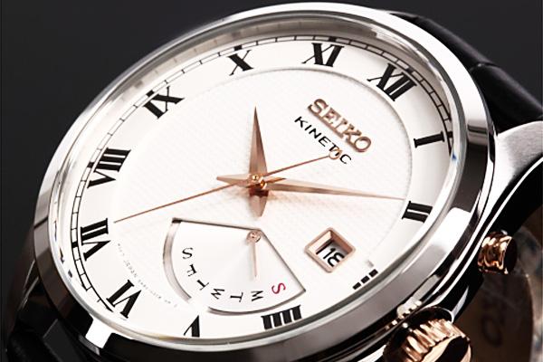 セイコー SEIKO KINETIC クォーツ メンズ 腕時計 SRN073P1