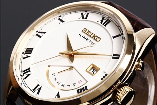 セイコー SEIKO KINETIC クォーツ メンズ 腕時計 SRN074P1