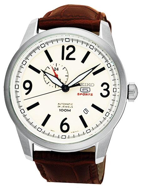 セイコー SEIKO セイコー5 SEIKO 5 スポーツ 自動巻き メンズ 腕時計 SSA295J1 アイボリー