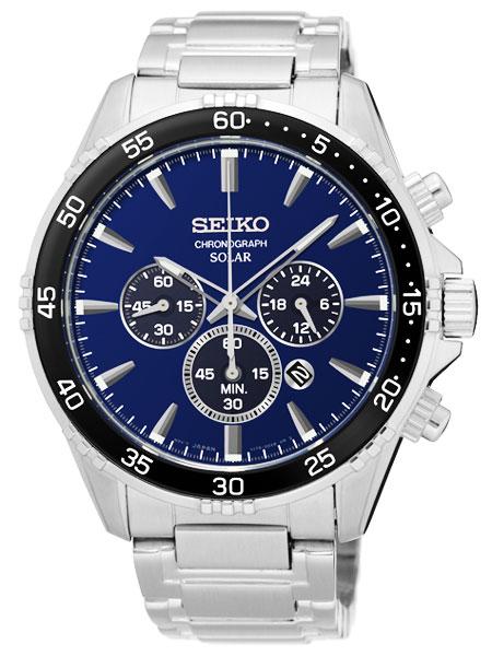 セイコー SEIKO ソーラー クロノグラフ 腕時計 SSC445P1