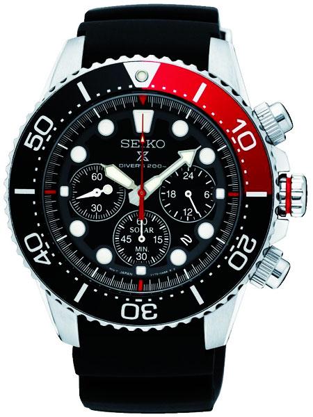 セイコー SEIKO プロスペックス PROSPEX クオーツ メンズ 腕時計 SSC617P1 ブラック
