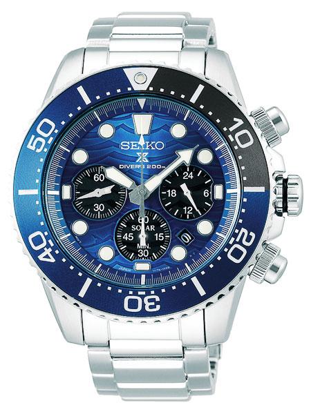 セイコー SEIKO プロスペックス PROSPEX ソーラー ダイバーズ クロノグラフ スペシャルエディションモデル 腕時計 SSC741P1