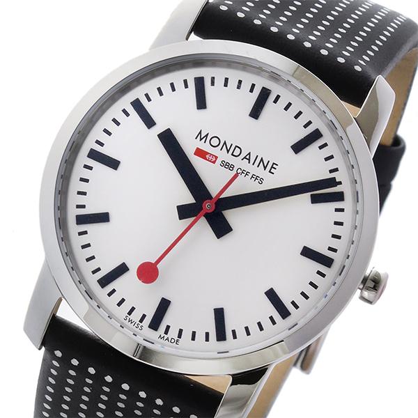 モンディーン MONDAINE クオーツ ユニセックス 腕時計 A400.30351.11SBO ホワイト