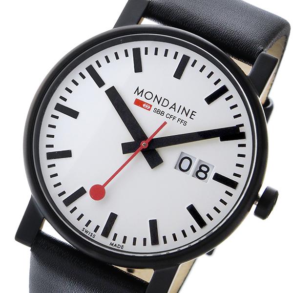 モンディーン MONDAINE クオーツ メンズ 腕時計 A627.30303.61SBB ホワイト