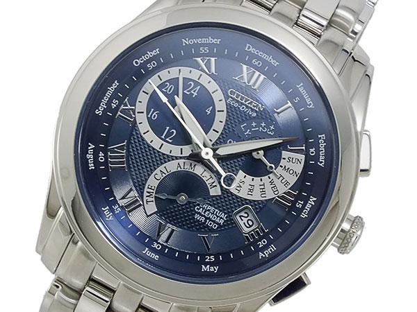 シチズン CITIZEN エコドライブ パーペチュアルカレンダー クオーツ メンズ 腕時計 BL8007-55L