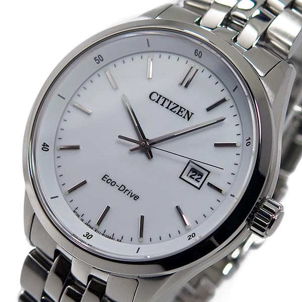 シチズン CITIZEN クオーツ メンズ 腕時計 BM7250-56A ホワイト
