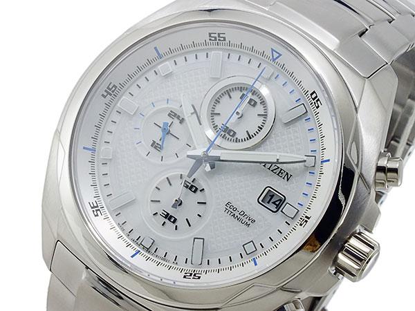 シチズン CITIZEN エコドライブ メンズ クロノ 腕時計 CA0190-56B