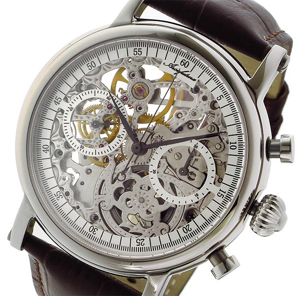 アルカ フトゥーラ ARCA FUTURA 手巻き クロノ メンズ 腕時計 CW3002BR スケルトン