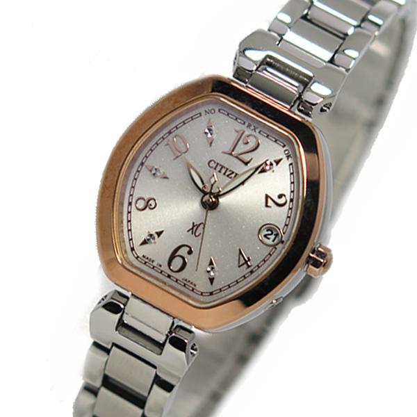 シチズン クオーツ クロスシー XC レディース 腕時計 ES8055-65A ピンクゴールド