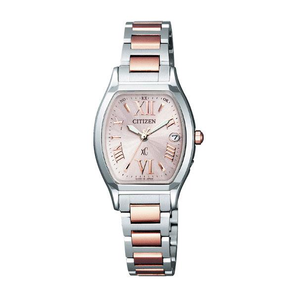 シチズン CITIZEN クロスシー レディース 腕時計 ES8154-55W 国内正規