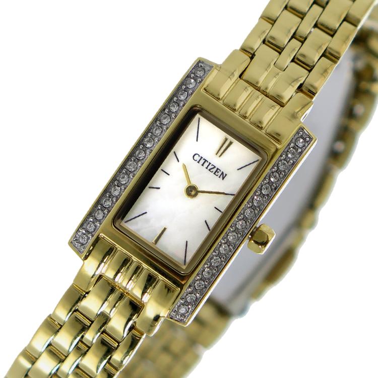 シチズン CITIZEN クオーツ レディース 腕時計 EZ6352-58D シェル