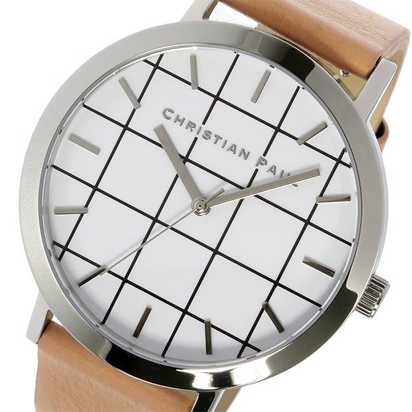 クリスチャンポール CHRISTIAN PAUL グリッド GRID AIRLIE ユニセックス 腕時計 GR-04 ホワイト