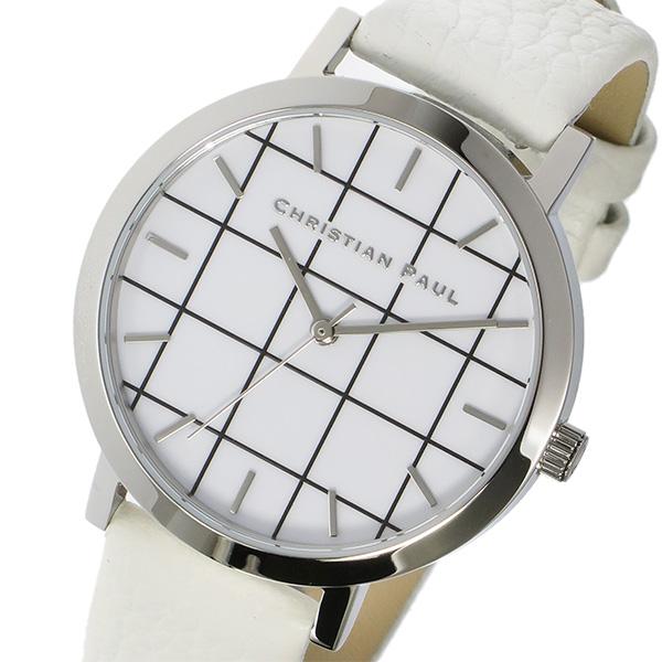 クリスチャンポール CHRISTIAN PAUL グリッド GRID HAYMAN レディース 腕時計 GRL-03 ホワイト
