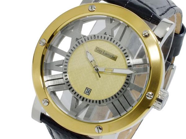 ギ・ラロッシュ Guy Laroche クオーツ メンズ 腕時計 GS1401-03