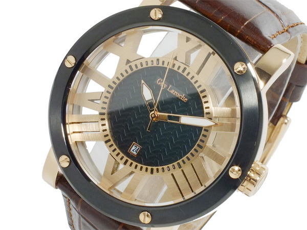 ギ・ラロッシュ Guy Laroche クオーツ メンズ 腕時計 GS1401-05