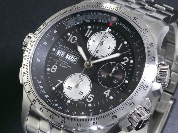 ハミルトン HAMILTON カーキ KHAKI X-ウィンド 腕時計 H77616133