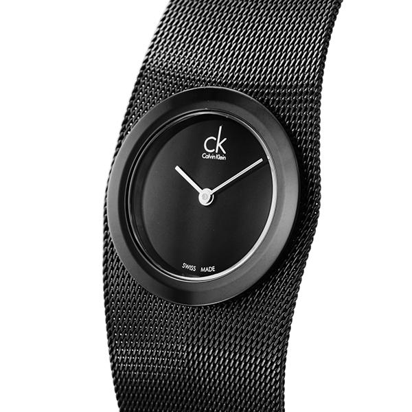 カルバン クライン Calvin Klein クオーツ レディース 腕時計 K3T234.21 ブラック