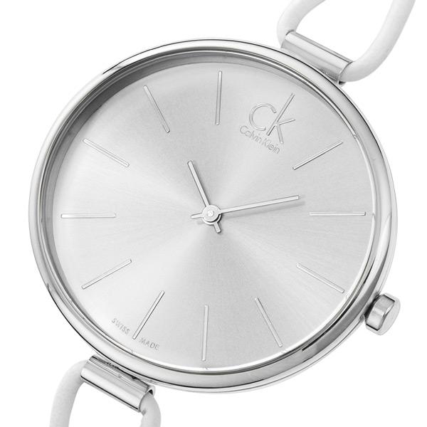カルバン クライン セレクション クオーツ レディース 腕時計 K3V231L6 シルバー