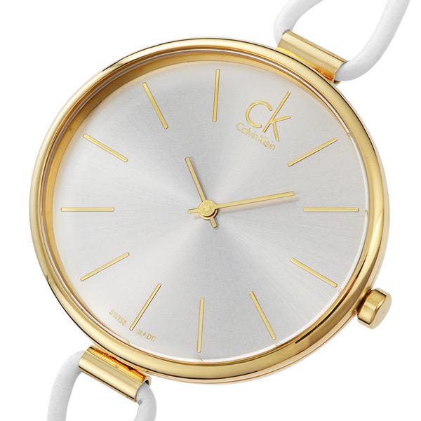 カルバン クライン セレクション クオーツ レディース 腕時計 K3V235L6 シルバー