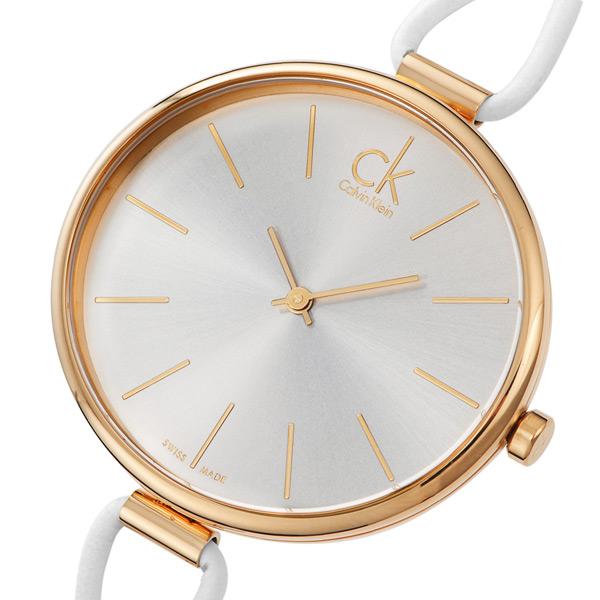 カルバン クライン セレクション クオーツ レディース 腕時計 K3V236L6 シルバー