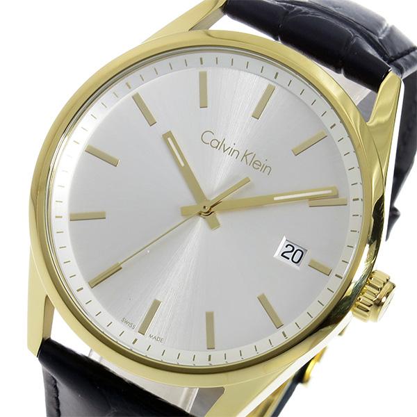 カルバン クライン CALVIN KLEIN クオーツ メンズ 腕時計 K4M215C6 シルバー