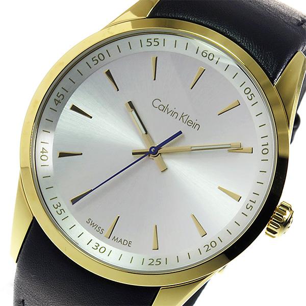 カルバン クライン CALVIN KLEIN クオーツ メンズ 腕時計 K5A315C6 シルバー