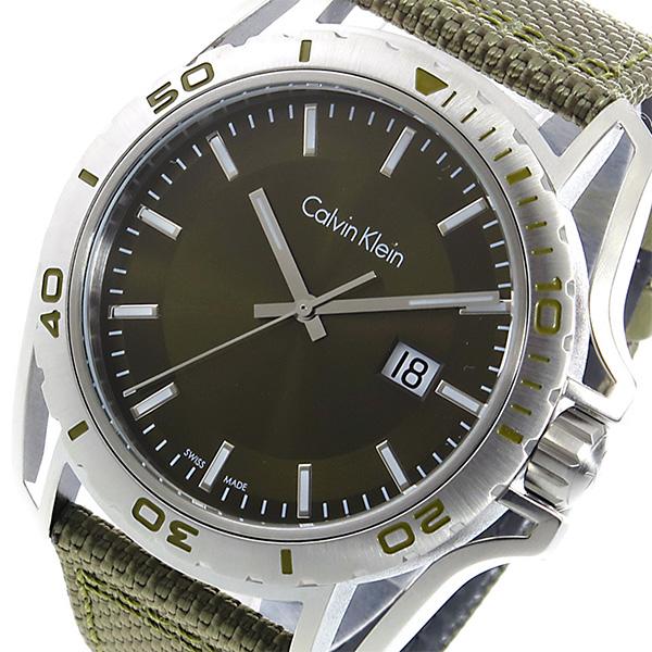 カルバン クライン CALVIN KLEIN クオーツ メンズ 腕時計 K5Y31XWL グリーン