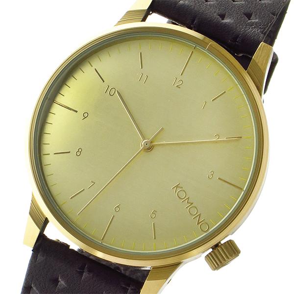 コモノ KOMONO クオーツ メンズ 腕時計 KOM-W2002 ゴールド