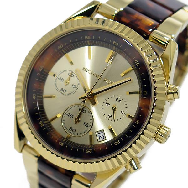 マイケルコース MICHAEL KORS クオーツ クロノ レディース 腕時計 MK5963 ゴールド