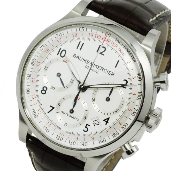 ボーム&メルシェ ケープランド 自動巻き メンズ クロノ 腕時計 MOA10041