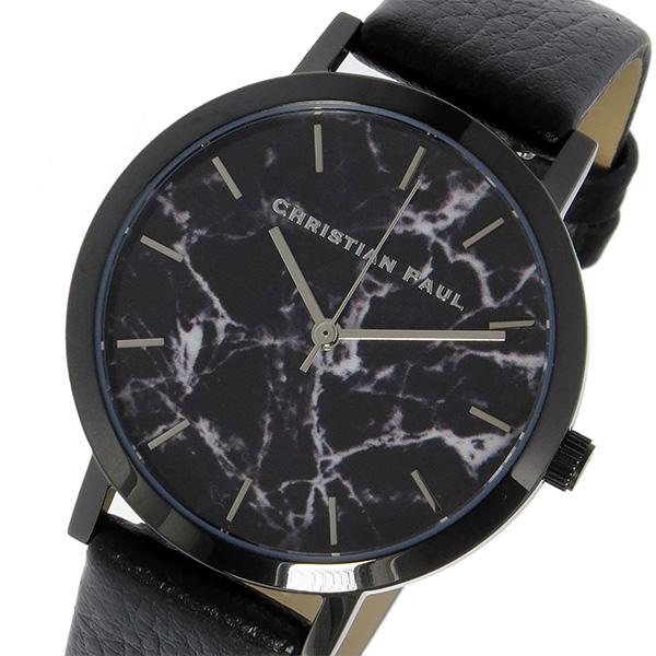 クリスチャンポール CHRISTIAN PAUL マーブル Marble THE STRAND レディース 腕時計 MRL-01 ブラック