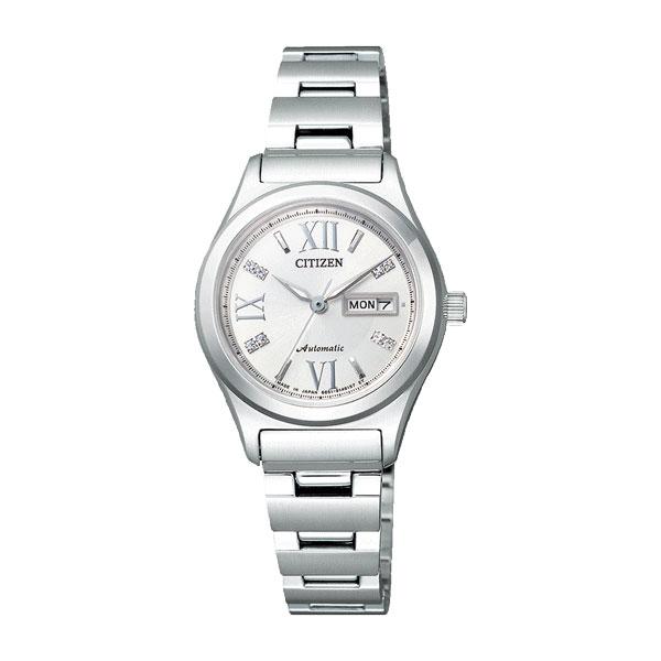 シチズン CITIZEN シチズンコレクション レディース 自動巻き 腕時計 PD7160-51A 国内正規
