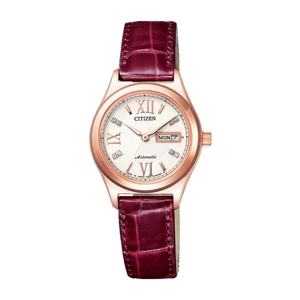 シチズン CITIZEN シチズンコレクション レディース 自動巻き 腕時計 PD7162-04A 国内正規