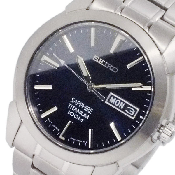 セイコー SEIKO クオーツ メンズ チタニウム 腕時計 SGG729P1
