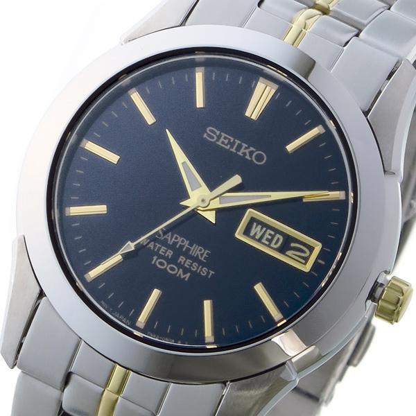 セイコー SEIKO クオーツ ユニセックス 腕時計 SGGA61P1 ブラック