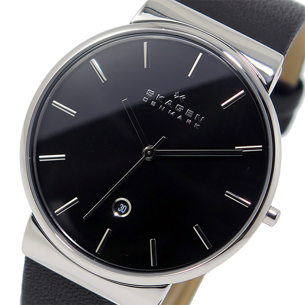 スカーゲン SKAGEN クオーツ メンズ 腕時計 SKW6104 ブラック