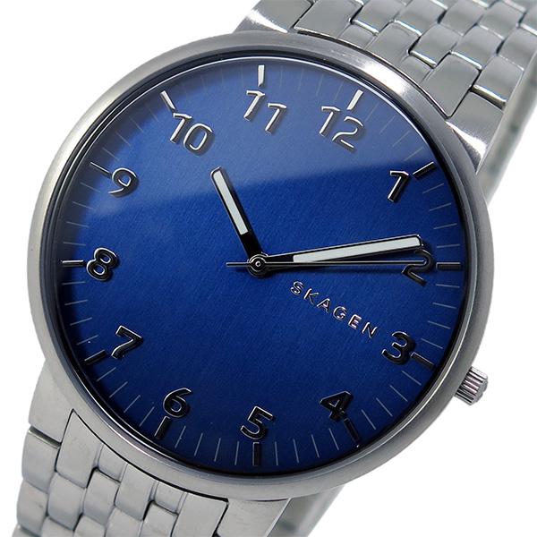 スカーゲン SKAGEN クオーツ メンズ 腕時計 SKW6201 ネイビー