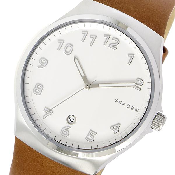 スカーゲン SKAGEN スンドビー SUNDBY クオーツ メンズ 腕時計 SKW6269 ホワイト
