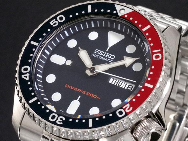 セイコー SEIKO 自動巻き 腕時計 SKX009K2