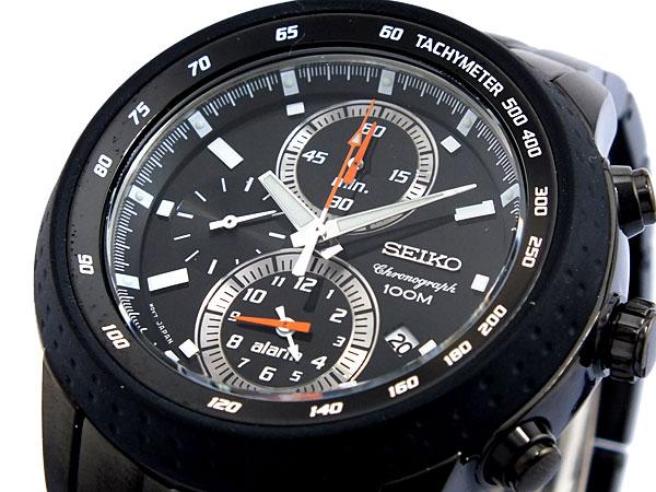セイコー SEIKO クロノグラフ アラーム 腕時計 SNAB53P1