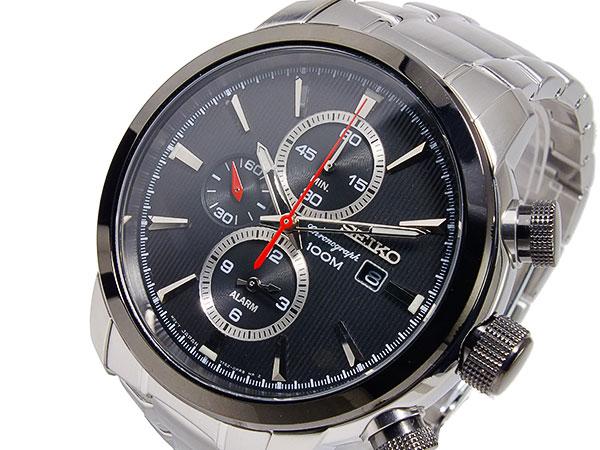 セイコー SEIKO クオーツ メンズ クロノグラフ 腕時計 SNAF47P1