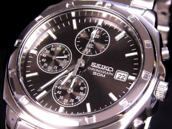 セイコー SEIKO クロノグラフ 腕時計 SND191P1